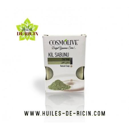 Savon à l'Argile Pour Visage, Corps Et Cheveux - Cosmolive - 100 G