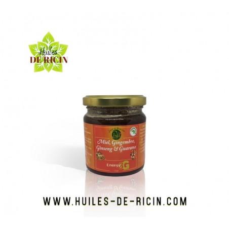 Miel, Gingembre, Ginseng, Guarana - 250 gr - Chifa