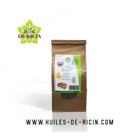 Tisane Thym - Citron - Gingembre Chifa 100% naturelle