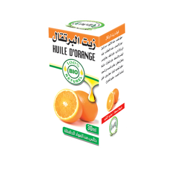 Huile d'orange 30ml 100%...