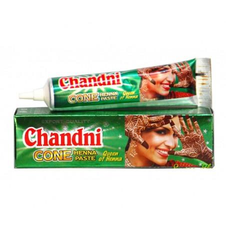 Henné en tube Chandni couleur marron