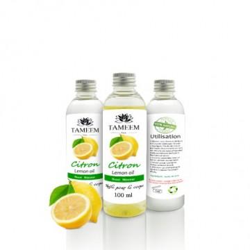 huile de citron tameem