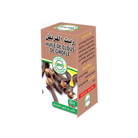 Huile de Clous de Girofle 30ml 100% naturelle Al Kawthar