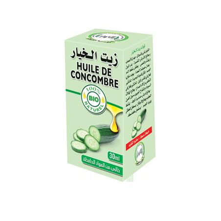 Huile de Concombre 30ml 100% naturelle Al Kawthar