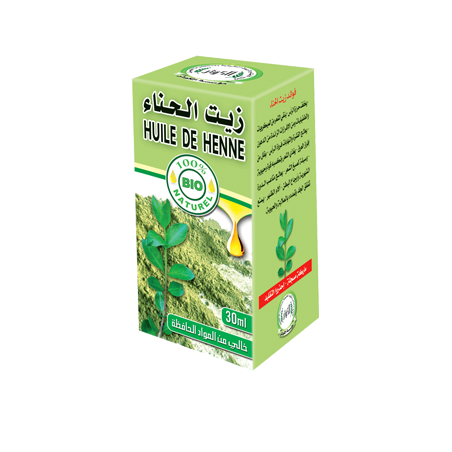Huile de Henné 30ml 100% naturelle Al Kawthar